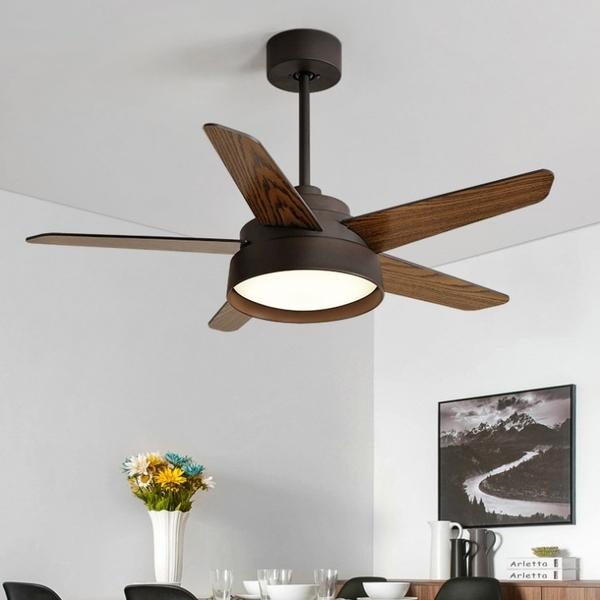 北歐風DC變頻風扇 42吋簡約馬卡龍風客廳餐廳兒童空間頂裝吸頂吊扇