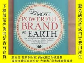 二手書博民逛書店the罕見most powerful brand on eart