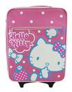 【卡漫城】 Hello Kitty 行李箱 約50cm高 粉紅白點 ㊣版 拉桿式 登機箱 旅行箱 批貨箱 輕便 日版