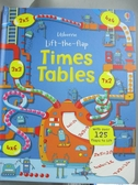 【書寶二手書T2/少年童書_ZHG】Lift the Flap Times Tables Book_Rosie Dickins,Benedetta Giaufret