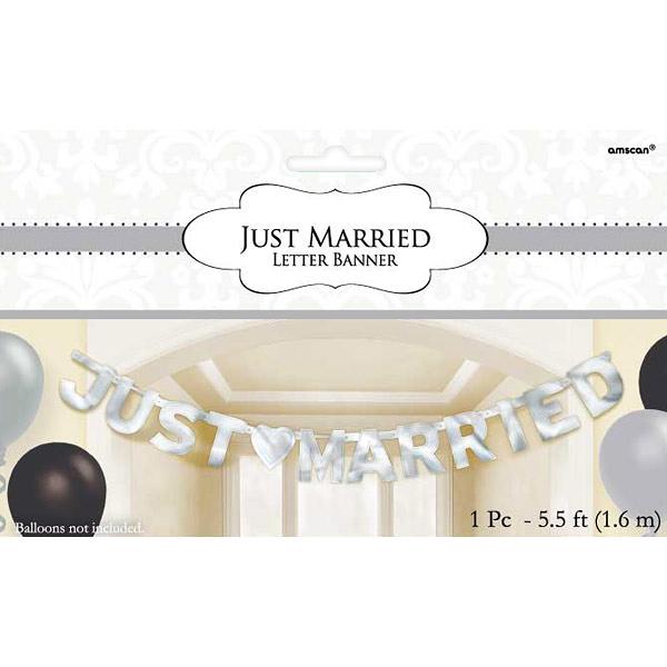 英文字串1入-Just Married