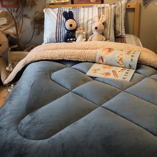 紳士公爵 羊羔絨暖被 內有充棉 溫暖舒適 150cmX195cm (正負5cm) 總重約1.8kg 台灣製
