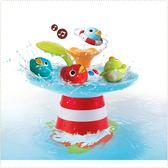 以色列 Yookidoo 戲水玩具-音樂小鴨噴泉/洗澡玩具/麗兒采家