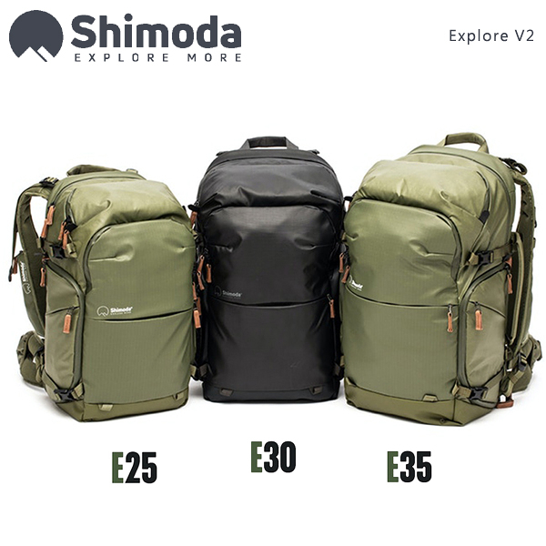 EGE 一番購】Shimoda【Explore V2 E25|25L】二代探索專業登山雙肩攝影包【公司貨】