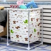 索爾諾臟衣籃 折疊臟衣簍儲物桶大號臟衣服收納筐布藝家用洗衣籃YYP 俏女孩