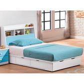 床架 FB-055-1A 粉藍雙色3.5尺雙人床 (床頭+床底)(不含床墊) 【大眾家居舘】