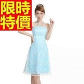 晚宴服-美觀華麗蕾絲刺繡短款女晚禮服1色65c29[巴黎精品]