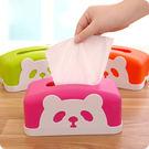可愛動物卡通熊貓紙巾盒/創意個性時尚汽車...