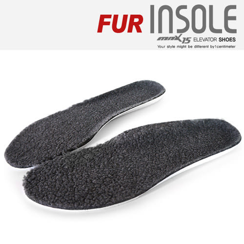 韓國MNX15 - 超保暖毛毛絨隱形增高鞋墊 BFur-Insole