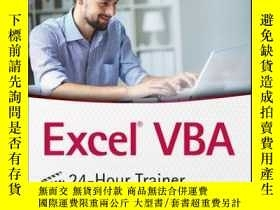 二手書博民逛書店Excel罕見VBA 24-Hour Trainer, 2nd EditionY410016 Tom Urti