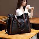 側背包 大容量真皮羊皮軟皮大包包 女新款手提包單肩女包斜挎包時尚  店慶降價