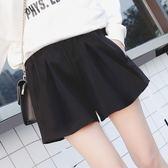 孕婦短褲女夏季款2018新款時尚薄款外穿寬鬆雪紡闊腿打底褲子夏裝 芥末原創