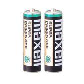 Maxell 碳鋅4號AAA電池(2入裝) 適用一般鬧鐘/掛鐘