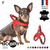 法國《BOBBY》新式小羊皮胸背 快穿真皮胸背 馬鞍胸背 貴賓/傑克羅素/臘腸/馬爾濟斯