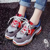 運動鞋 - 鞋運動鞋女百搭憨憨女鞋【韓衣舍】