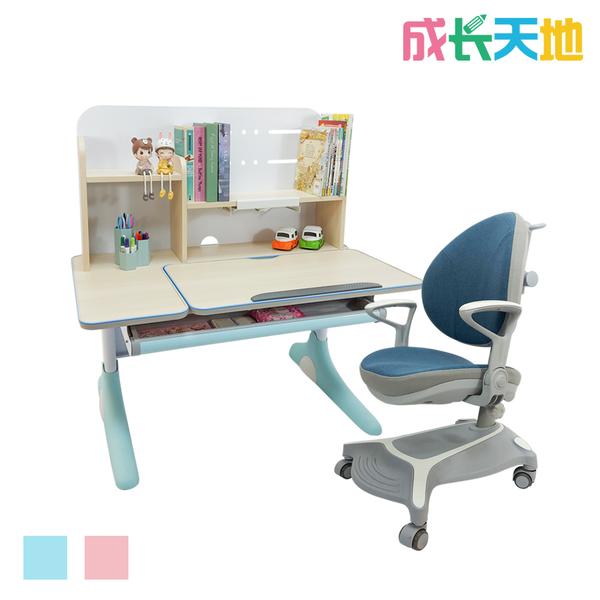 【結賬再折】兒童書桌椅 100m桌面 可升降桌椅 成長桌椅組 兒童桌椅組(ME301N+AU771)