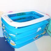 游泳池充氣嬰幼兒童家用加厚保溫 洗澡桶室內戲水池 ZJ184 【大尺碼女王】
