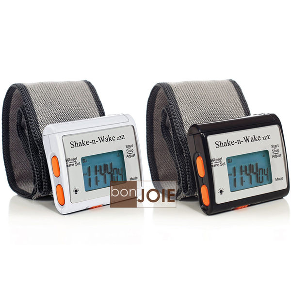 ::bonJOIE:: 美國進口 Shake-n-Wake Alarm Clock 隨身腕表型個人震動鬧鐘 鬧鈴 提醒器 手腕 靜音 振動鬧鐘