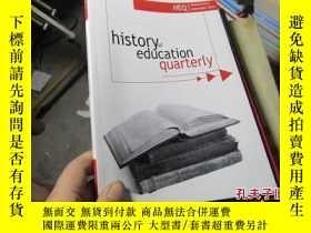 二手書博民逛書店history罕見of education quarterly