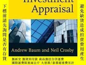 二手書博民逛書店Property罕見Investment Appraisal, 3rd EditionY256260 Andr