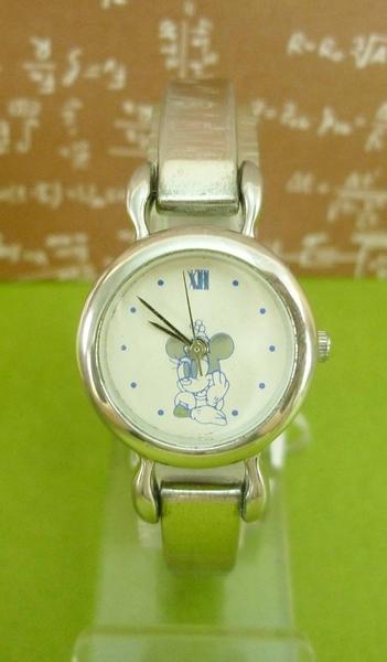 【震撼精品百貨】米奇/米妮_Micky Mouse~手錶-藍白米妮