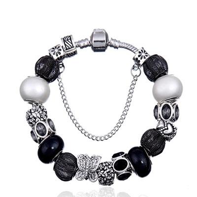 手鍊 串珠-琉璃飾品性感好搭生日情人節禮物女配件2色73bn14【時尚巴黎】
