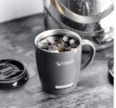杯子女學生韓版馬克杯帶蓋勺保溫咖啡創意潮流不銹鋼兒童辦公水杯 至簡元素