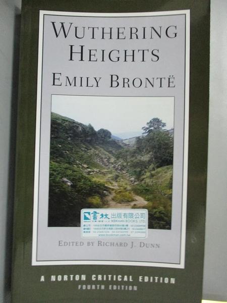 【書寶二手書T9/原文小說_NDB】Wuthering Heights_Bronte, Emily