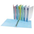 【奇奇文具】新德牌Sander 07-301 A4 P.P. 柔彩三孔檔案夾/檔案夾/資料夾/文件夾(1箱12個)