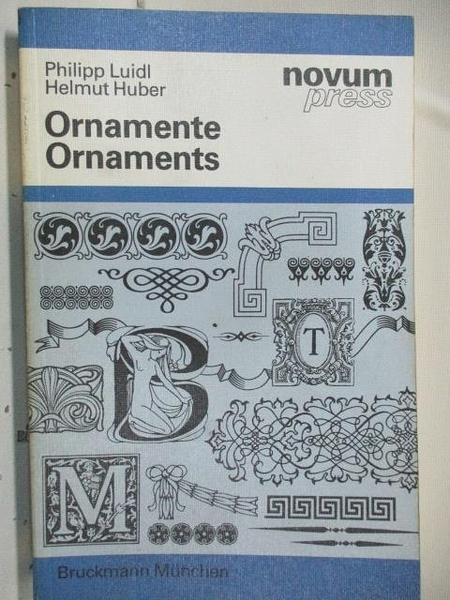 【書寶二手書T4/藝術_DN1】Ornament Ornaments_novum press