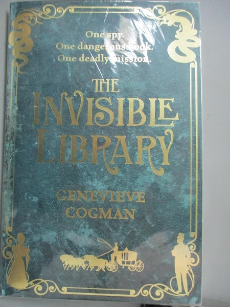 【書寶二手書T4/原文小說_HBR】The Invisible Library (The Invisible Libra