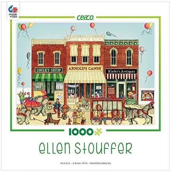 【KANGA GAMES】拼圖 馬戲團遊行 Ellen Stouffer - Circus Parade 1000片