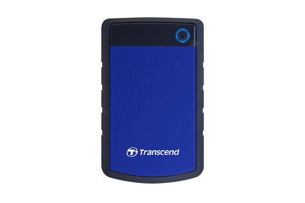 創見 StoreJet 25H3B 1TB 2.5吋 USB3.0 軍規全包覆防震外接硬碟