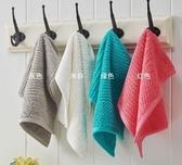 3條裝印尼進口純棉彩條方巾全棉彩色洗臉小毛巾C130