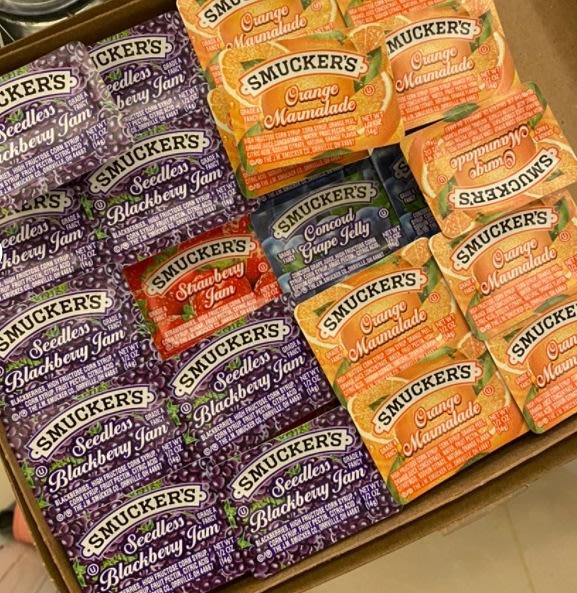 美國盛美家 SMUCKERS迷你果醬 草莓/葡萄/黑莓/橘子 4種口味 14克裝 果醬【Z030】