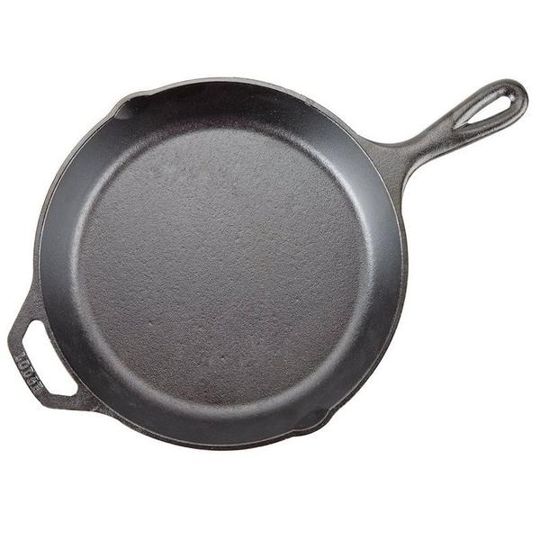 美國 Lodge 鑄鐵平底煎鍋 10吋