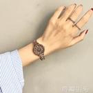 古風手錶中國風金屬錬條簡約森系復古學院風小巧精致百搭學生女錶 初語生活