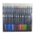 【奇奇文具】英士 CB-600-16C 卡式彩繪毛筆(16色入)