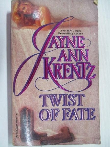 【書寶二手書T2/原文小說_BL5】Twist of Fate_Jayne Ann Krentz