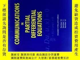 二手書博民逛書店Communications罕見in Partial Differential Equations 10-12 2