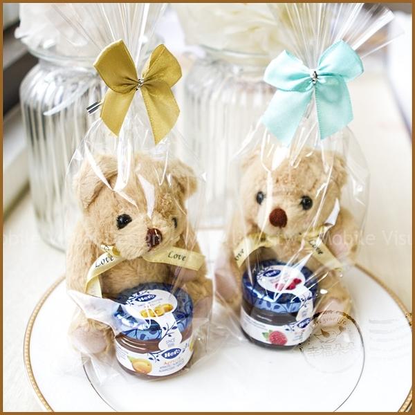 醬子熊幸福-小熊+藍蓋hero果醬禮物包-迎賓禮/生日禮物/送客禮/來店禮/滿額禮/聖誕禮物