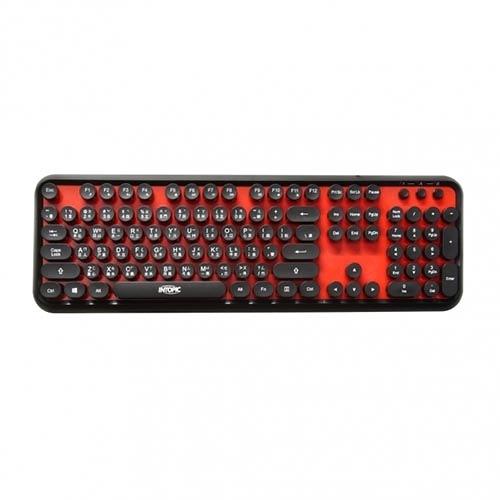 INTOPIC 廣鼎 KBD-USB-65 打字機造型鍵盤