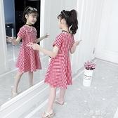 女童洋裝夏裝夏天新款超洋氣女孩薄款裙子童裝公主裙潮 雙十二全館免運