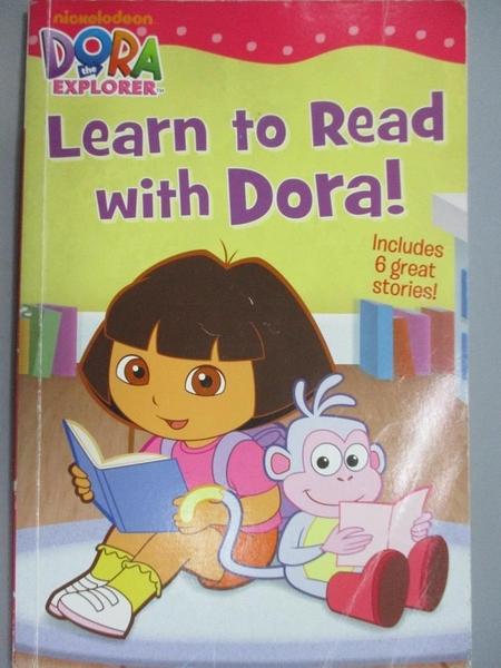 【書寶二手書T2/語言學習_XDU】Learn to Read With Dora!