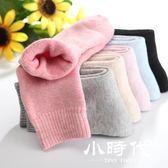 襪子 厚女秋冬款加厚保暖加絨中筒冬季純棉襪冬天毛巾毛圈女襪