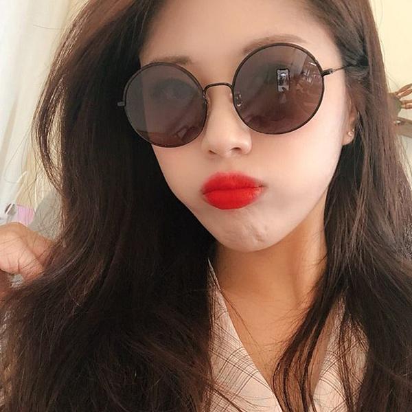 LASH 墨鏡 GLIM GG16 (玳瑁-霧黑) 圓框 韓國 太陽眼鏡 久必大眼鏡