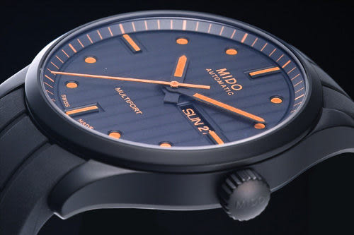 MIDO Multifort 先鋒系列典藏大三針機械腕錶  M0054303705180