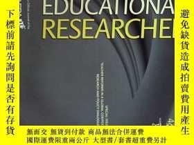 二手書博民逛書店EDUC罕見RESEARCHER (Journal) 05 2017教育研究院学术期刊考研资料Y14610