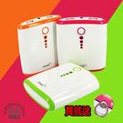 《買就送 寶可夢 指環》雙USB 10000 行動電源 BSMI 檢驗合格 綠/橘 可選