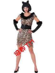 貓女豹女可愛 豹紋女郎